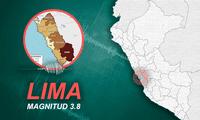 Sismo alertó a ciudadanos en Lima este sábado 24 de julio
