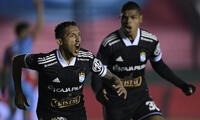 Gonzales anotó el gol del empate (1-1) que le permitió a Cristal clasificar a los cuartos de final de la Sudamericana.