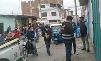 sicarios acribillan a soldador en Chepén