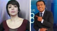 Tatiana Astengo corrige a Jimmy Chinchay tras no llamar presidente a Pedro Castillo