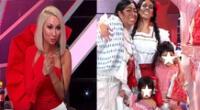 Al ritmo de La Perla Del Chira y Así es mi Perú, la 'Pánfila' emocionó a Belén Estévez.