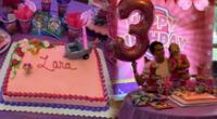 Juan Victor, festeja el cumpleaños número 3 de su hija lejos de Andrea San Martín