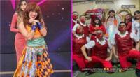 La Uchulú se une a la magia del circo junto a la 'Chola Chabuca'.