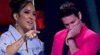 Daniela Darcourt no le gustó la presentación de Jean Paul y termina siendo eliminado de La Voz Perú.