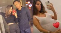 Esposa de futbolista André Carrillo muestra orgullosa embarazo en Instagram