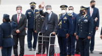 Guillermo Lasso, presidente de Ecuador, llegó a Lima para presenciar la juramentación de Pedro Castillo como nuevo presidente del Perú.
