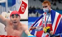 Deportista británico que tuvo dos veces COVID-19 y se llevó medalla de oro en natación.