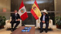 Pedro Castillo tras reunión con rey Felipe VI de España