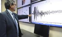 dos fuertes sismos mayores de 5 grados  en