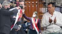 María del Carmen Alva se puso la banda presidencial sin esperar a Francisco Sagasti.