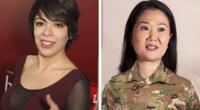 Tatiana Astengo apoya comentario que pide a Keiko Fujimori en servicio militar