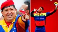 Venezolano se convierte en tendencia por hacer viral su saludo a Hugo Chávez.