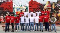 Los internos cantaron al Perú el himno del Bicentenario