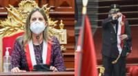María del Carmen Alva aseguró que Sagasti ya no podría ingresar al Congreso porque ya no era presidente