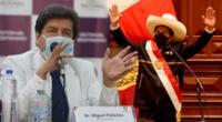 Pedro Castillo reafirmó sus compromisos para garantizar la salud y reforzar la inmunización.