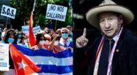 ¿Dictadura o no? Guido Bellido Ugarte generó polémica tras comentario vinculado a Cuba.