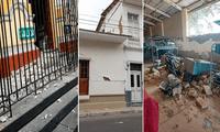 Sismo de 6.1 dejó fuertes daños en Piura