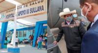 Pedro Castillo acudió al hospital de Sullana