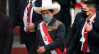 """""""El señor presidente de la república procedió a retirarse a fin de viajar a Piura, para atender la emergencia"""", dijo el Despacho Presidencial."""