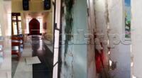 Ciudadanos de Salitral mostraron cómo quedaron sus viviendas e iglesias tras el temblor.