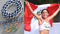 Gladys Tejeda con mucha ilusión por representar a Perú en Tokio 2020.