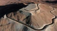 Desierto de la frontera entre Perú y Chile donde posiblemente se perdió la mujer.