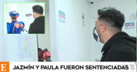 Jazmín Pinedo tira la puerta a reportero de América Hoy.