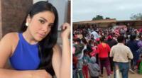 Maricarmen envía mensaje a damnificados tras sismo en Piura.