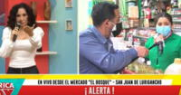 Reportero de AH dice que precios se disparan, y vendedora lo trolea.