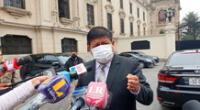 Walter Ayala aseguró que conversará con la DEA a su visita al VRAEM