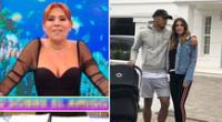 Magaly Medina afirma que André Carrillo está muy bien con su esposa.