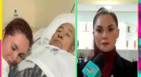 Génesis Tapia se quiebra al hablar de la enfermedad de su papá: