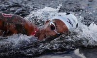 Cunha da una medalla para Brasil en Aguas abiertas.