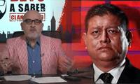 Beto Ortiz insulta al ministro Walter Ayala quien fue nombrado por Pedro Castillo, presidente del Perú.