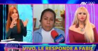 Magaly Medina arremetió contra la excongresista para hacerla entender que las agresiones no se justifican.