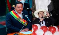 Luis Arce Catacora fue uno de los primeros en felicitar a Pedro Castillo. Foto: composición/EFE
