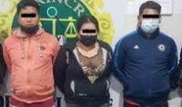 Detenidos fueron llevados a la comisaría para las investigaciones