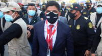 Carrasco Millones reiteró que su cartera trabajará de la mano con la Policía, la ciudadanía en general y otras instituciones como el Ministerio Público.
