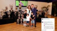 Lionel Messi se despidió del FC Barcelona y Antonela lo apoyó.