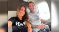 Antonela Rocuzzo y Lionel Messi ya viajan a París para una nueva vida en Francia.