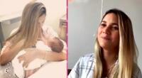 María Gracia Gamarra contó los detalles de su segundo parto.