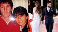 La historia de amor entre Leo Messi y Antonella Roccuzzo.