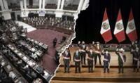 El gabinete ministerial de Pedro Castillo juró los días 29 y 30 de julio. Foto: composición/La República