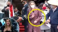 Juliana Oxenford estalla con gesto de rechazo de Maricarmen Alva a Pedro Castillo.