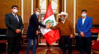 Pedro Castillo dio detalles de su reunión con Ricardo Gareca.