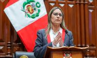 Presidenta del Congreso envía oraciones al pueblo de Haití.
