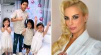 Dalia Durán conmueve con saludo para sus hijos por el Día del niño.