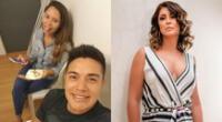 Modelo Olenka Cuba respondió a Karla Tarazona y dijo que Leonard León viajó a pasear.