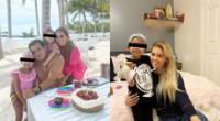 La esposa de César Acuña Jr., Claudia Cruzalegui, reveló que su pequeña debió ser operada nuevamente para luchar contra las cataratas.