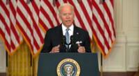 Joe Biden dio una conferencia de prensa sobre las acciones que tomará el gobierno frente a la crítica situación en Afganistán.